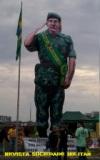 General Mourão vira boneco em 15 de novembro