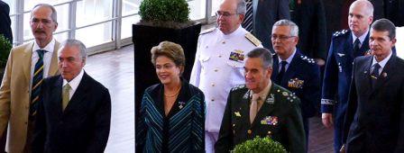 carreira militar, Amigos  de dilma confraternizando com comandantes amigos para sempre0