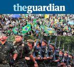 jornal the guardian intervenção militar dilma brasil