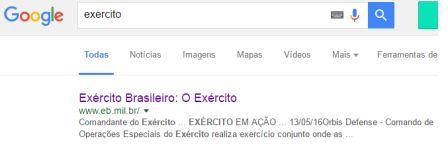exercito o exercito