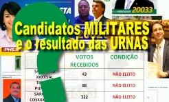 candidatos militares eleitos e resultados