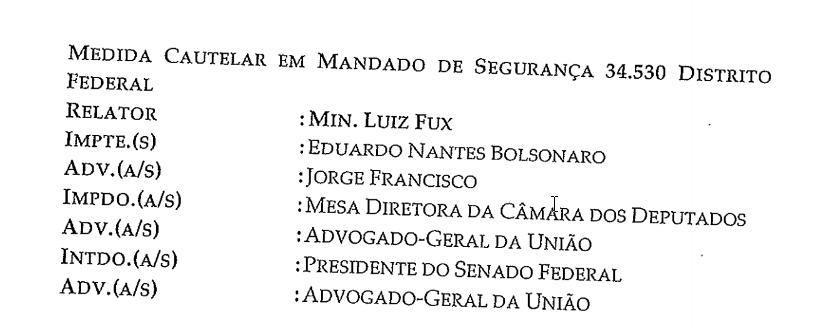 DECISÃO FUX 10 MEDIDAS