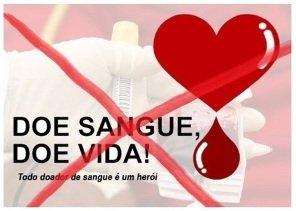 policiais proibidos doar sangue