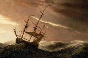 navio à deriva