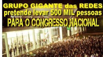 ocupação do congresso 500 mil