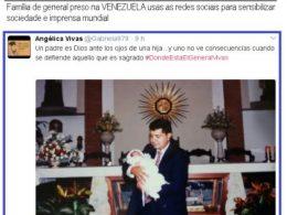 general vivas preso - familia clama nas redes