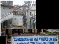 cabine em favela indigna sociedade