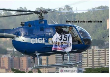 militares revolat venezuela helicoptero