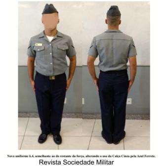 mudança de uniforme marinha