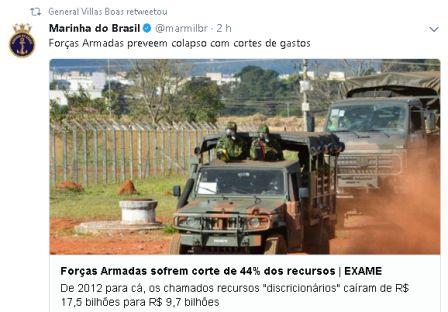 Forças Armadas e policiais fazem operação em Niterói