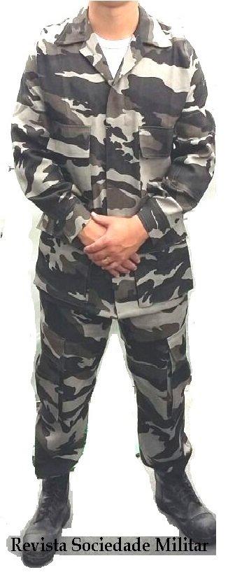 alteração uniformes marinha