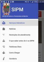 aplicativo marinha sipm svpm