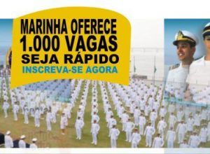 MARINAH 1000 VAGAS INSCRIÇÕES