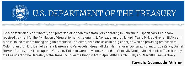 El Aissami crime trafico drogas