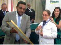ALmirante DALVA, medalha Chiquinha Gonzaga