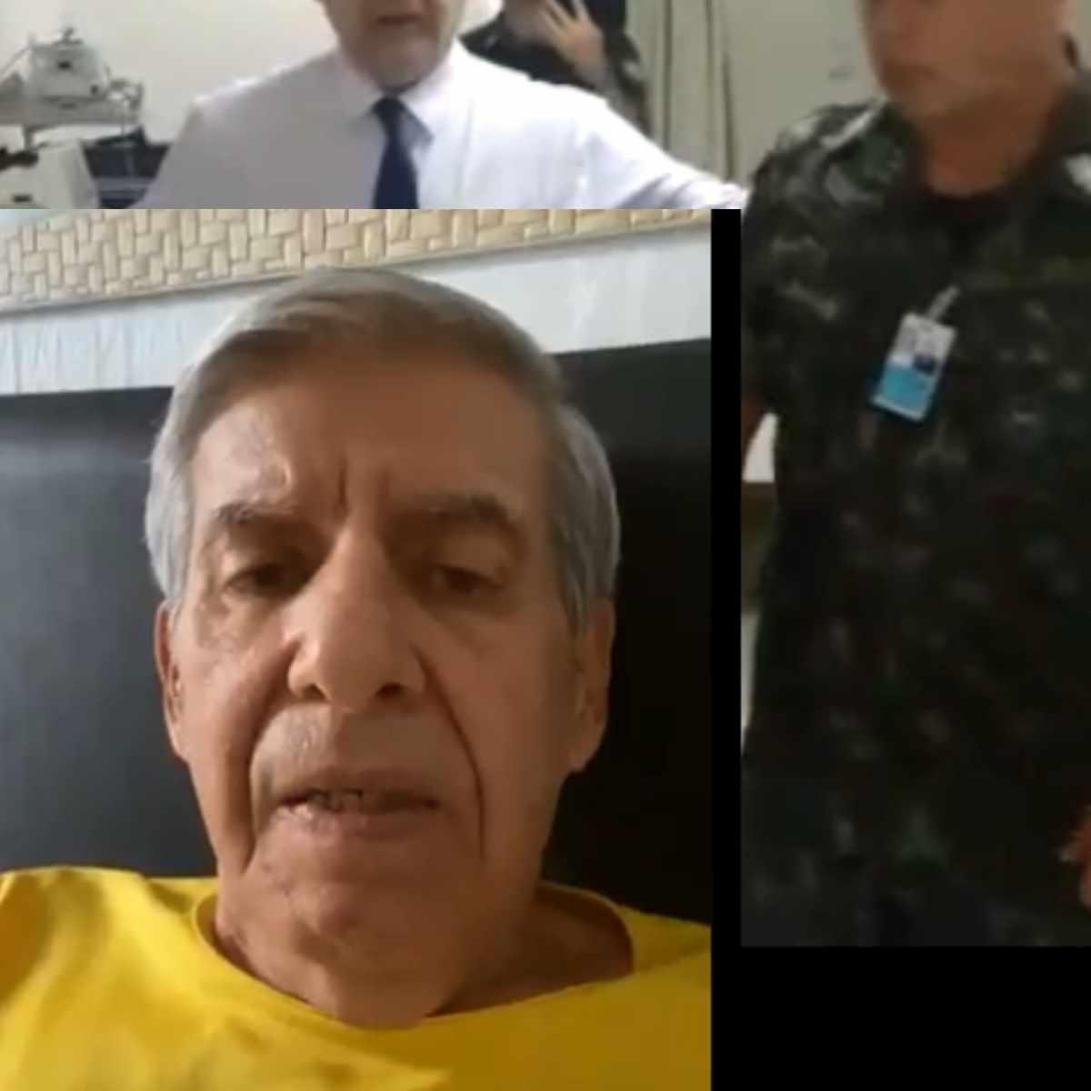 General heleno reclama de fake news